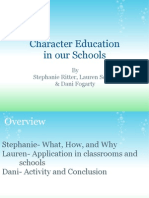 Character Education in Our Schools