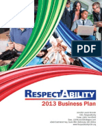 RespectAbility Business Plan