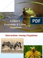L5 Ecosystems and Living Organisms