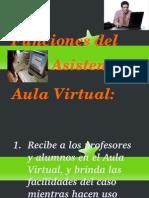 Funciones Asistente Aula Virtual