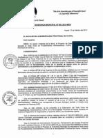 TUPA Huaral - Contiene VISACION de PLANOS - Pag 60 Al 61 - Febre 2013