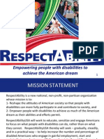 RespectAbility Powerpoint