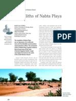 The Megaliths of Nabta Playa