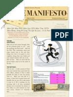 Amazing Lifestyle Creation Formula Manifesto