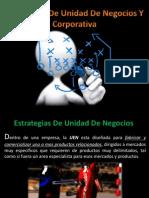 Estrategias de La Unidad de Negocios y Corporativa