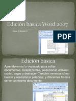 3 - Edición básica