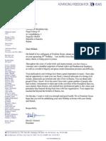 David Kramer's Birthday Letter to Mikhail Khodorkovsky