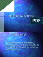 Descentralización - Fuente desconocida