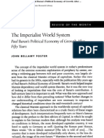 Foster, John Bellamy 2007 'the Imperialist World System-- Paul Baran's 'Political Economy of Growth' After Fifty Years