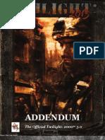Twilight 2013 Rules Addendum
