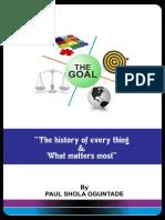 The GOAL by Paul Shola Oguntade