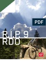 Niner RIP9 RDO
