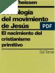 Theissen, Gerd - Sociologia Del Movimiento de Jesus