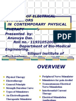 The Role of Electrical Stimulators in Contemporary Physical Therapy