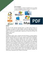 Qué es un sistema operativo con ejemplos