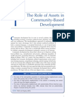 The Role of Assets in Community-based Development