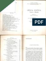 Maurice Duverger, Ciência Política - Teoria e método