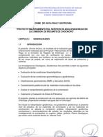ESTUDIO GEOLOGIA GEOTECNIA