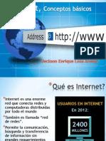 1. Internet, Conceptos básicos