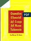112688787 GramaticaElementalDelGriegoDelNuevoTestamento Gillermo H Davis