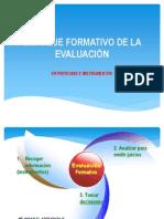 ENFOQUE FORMATIVO DE LA EVALUACIÓN