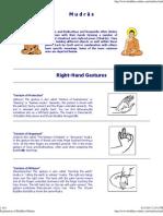 Explanation of Buddhist Mudras