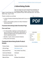Facebook Marketing - A How to Social Network Marketing Guide