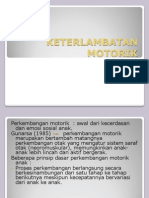 Power Point Keterlambatan Motorik