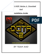 MYDOTA 2 MOD Version 2 Download And Installation Guides