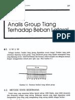 Bab6-Analisis Group Tiang Terhadap Beban Lateral