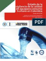 Estado de La Vigilancia de La Calidad de Agua Para Consumo Humano en Colombia 2007 - 2011