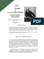 Lenin- El Estado y la Revoluci├│n