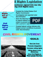 Civil Rights 1960-68