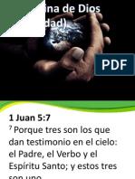 La Doctrina de Dios Trinidad