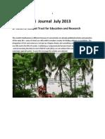 Chinthamani Journal July 2013