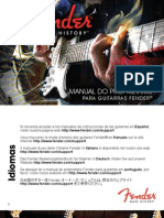 Fender ElectricGuitars Manual (2011) Portuguese