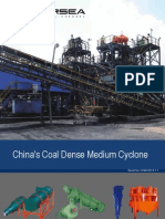 China's Coal Dense Medium Cyclone