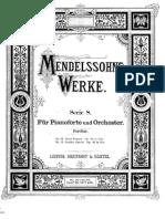Mendelssohn Felix - Piano Concerto No.1, Op.25 (Full)