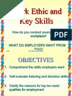 Session 3 Work Ethic & Key Skills
