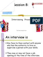 Session 8 Interviewing Process