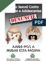 Cartilha Da Campanha Contra o Abuso Sexual e Pedofilia