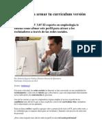 4 pasos para armar tu currículum versión 3
