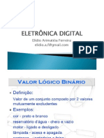ELETRÔNICA DIGITAL - AULA 03 - FAMÍLIAS LÓGICAS