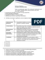 Banco de Questoes - Comportamento Organizacional