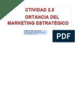 Importancia de la Mercadotecnia Estratégica