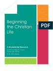 Beginning the Christian Life Booklet