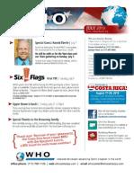 WHO - July 2013 Bulletin