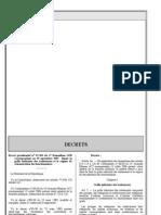 decret 07-304