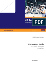 HR Survival Guide for Foreign Managers in Vietnam