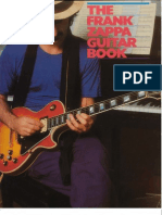Frank Zappa - The Frank Zappa Guitar Book